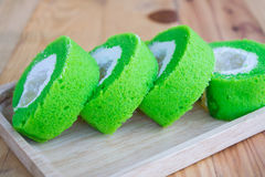 De Cake van broodjespandan Stock Fotografie