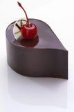 De cake van Chocolade Stock Foto's