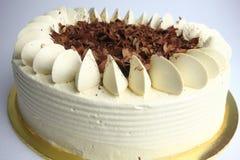 De cake van chocolademocca Stock Foto