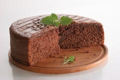 De cake van Chocolat Stock Afbeeldingen