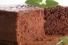 De cake van Chocolat Stock Foto