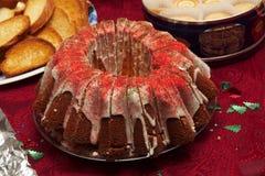 De cake van Chrismas Stock Foto's