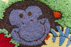 De cake van de aap Stock Afbeeldingen