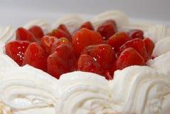DE CAKE VAN DE AARDBEI Royalty-vrije Stock Afbeelding