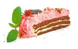 De cake van de aardbei Royalty-vrije Stock Fotografie