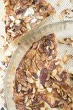 De cake van de amandel Stock Afbeelding