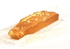De cake van de amandel Stock Fotografie