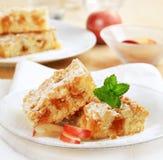 De cake van de appel Stock Afbeeldingen