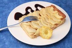 De cake van de appel Royalty-vrije Stock Afbeeldingen