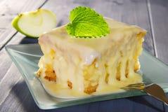 De cake van de appel Stock Fotografie
