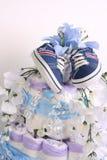 De cake van de baby topper Royalty-vrije Stock Afbeeldingen