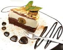 De cake van de banaan Royalty-vrije Stock Foto