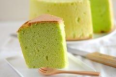 De Cake van de chiffon Stock Fotografie