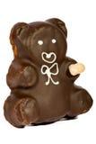 De cake van de chocolade. Stock Foto