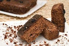 De Cake van de chocolade. Stock Afbeelding