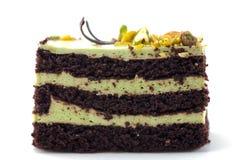 De Cake van de chocolade stock afbeeldingen