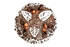 De cake van de chocolade. Royalty-vrije Stock Foto's