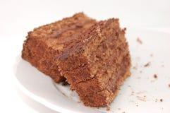 De cake van de chocolade Stock Afbeelding