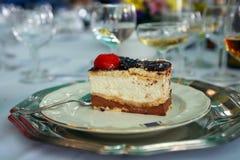 De cake van de chocolade Royalty-vrije Stock Foto