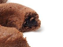 De cake van de chocoladedoughnut Royalty-vrije Stock Fotografie