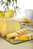 De cake van de citroen Royalty-vrije Stock Foto's