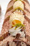 De cake van de citroen Stock Afbeelding
