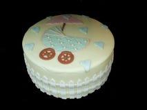 De Cake van de Douche van de baby Stock Foto
