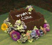 De Cake van de Drager van de ring Stock Foto