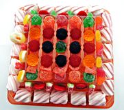 De cake van de gelei Stock Afbeelding
