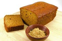De cake van de gember Stock Foto