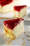De cake van de gestremde melk Stock Afbeeldingen