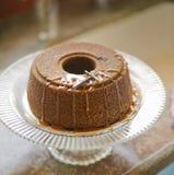 De cake van de honing stock foto's