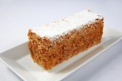 De cake van de honing Stock Afbeelding