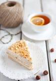 De cake van de honing Royalty-vrije Stock Foto