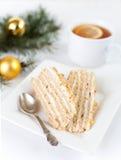 De cake van de honing Royalty-vrije Stock Afbeeldingen
