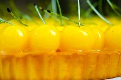 De Cake van de kers Royalty-vrije Stock Foto's