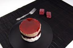 De Cake van de kers Stock Foto