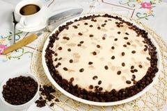 De cake van de koffie Royalty-vrije Stock Foto