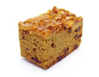 De cake van de koffie het toping met cashewnoten Royalty-vrije Stock Afbeeldingen