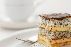 De cake van de kokosnoot Royalty-vrije Stock Afbeelding