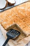 De cake van de kokosnoot Stock Afbeeldingen