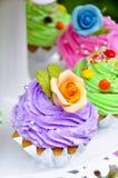 De cake van de kop Stock Afbeeldingen