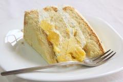 De cake van de mango Royalty-vrije Stock Afbeelding