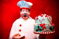 De cake van de marsepein royalty-vrije stock foto's