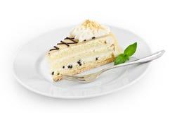 De cake van de marsepein stock foto