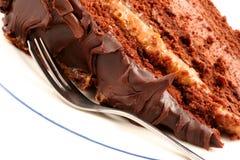 De Cake van de Modder van de chocolade Royalty-vrije Stock Afbeelding