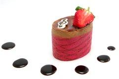 De Cake van de Mousse van de chocolade Royalty-vrije Stock Afbeelding