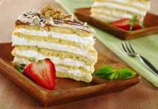 De Cake van de noot Royalty-vrije Stock Foto