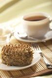 De cake van de noot Stock Foto's