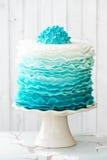 De cake van de Ombreruche Royalty-vrije Stock Foto's
